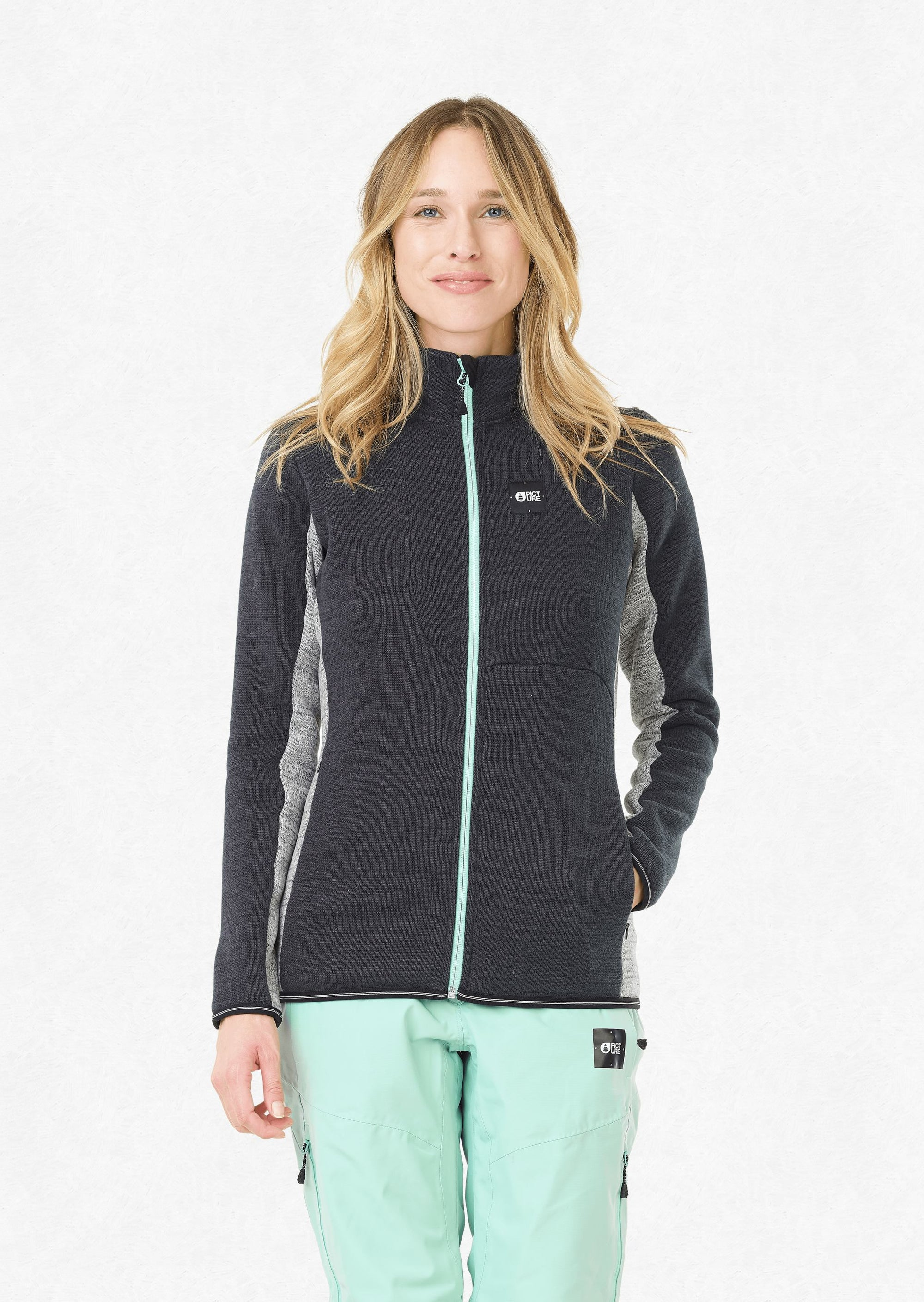 Picture Organic - Women's Wakay Jacket - Black - Recycled Polyester - Weekendbee - sustainable sportswear