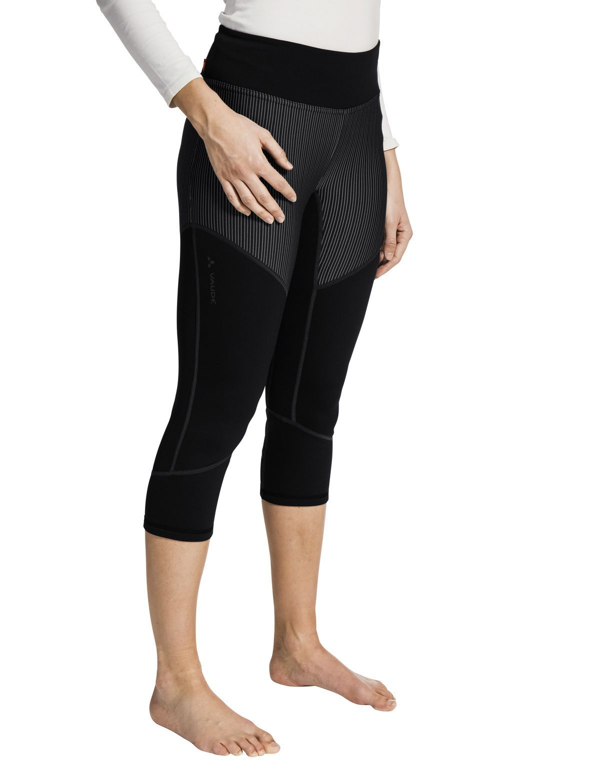 Vaude - W's Back Bowl Fleece Pants - Warm 3/4 fleece base-layer pants - Weekendbee - sustainable sportswear