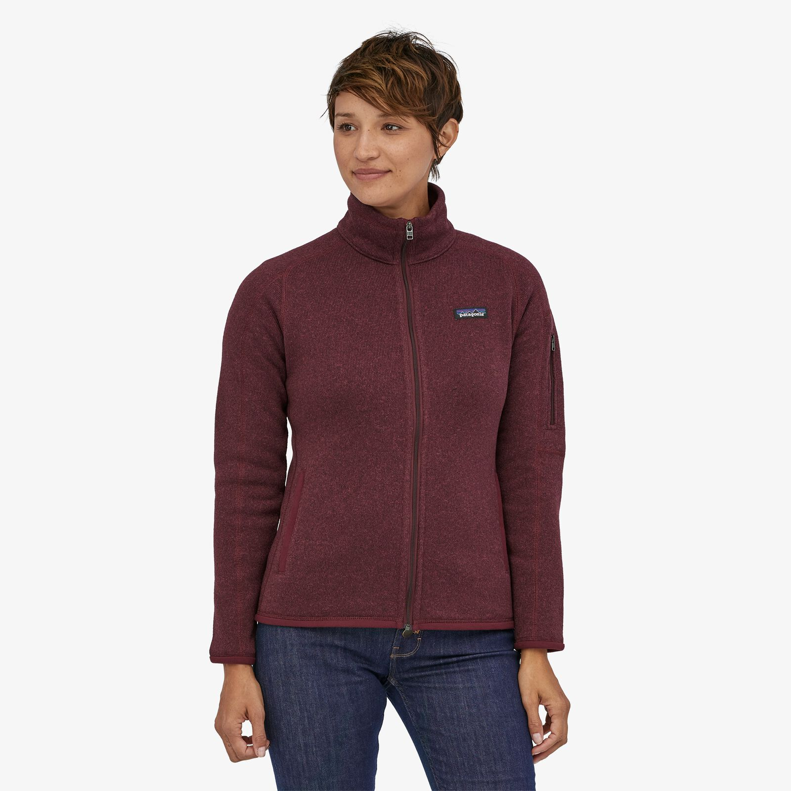 Patagonia - W's Better Sweater® Fleece Jacket - 100% Recycled Polyester - Weekendbee - sustainable sportswear