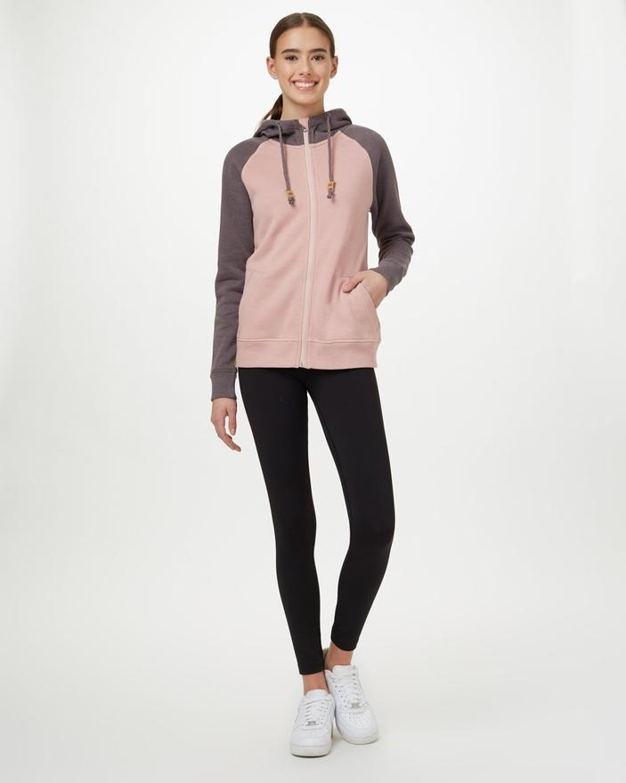 Tentree - W's Burney Zip Hoodie - Weekendbee - sustainable sportswear