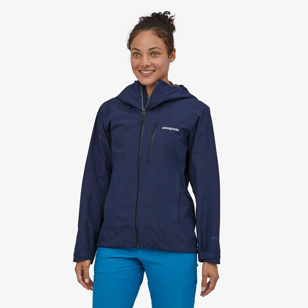 Patagonia - W's Calcite Shell Jacket - Gore-Tex - Recycled Polyester - Weekendbee - sustainable sportswear