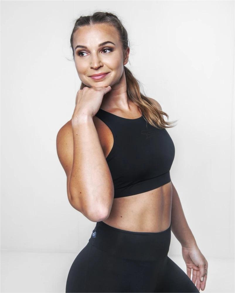Népra - W's Ceres Bra - Recycled polyamide - Weekendbee - sustainable sportswear