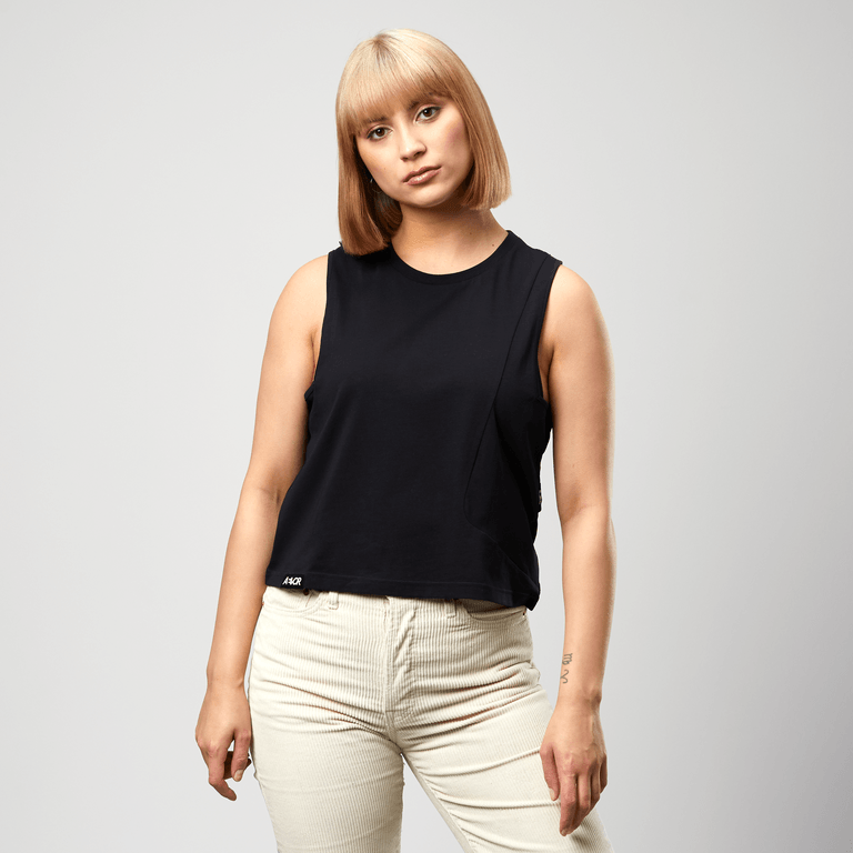 Aevor - W's Crop Top - Organic Cotton - Weekendbee - sustainable sportswear