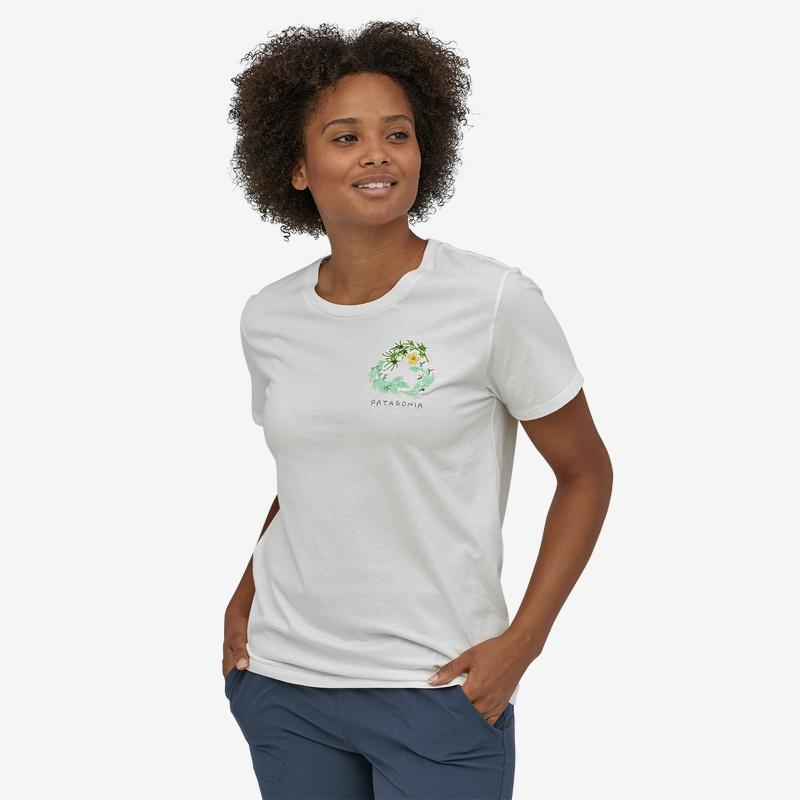 Patagonia - W's Fiber Activist Organic Cotton Crew T-Shirt - Weekendbee - sustainable sportswear