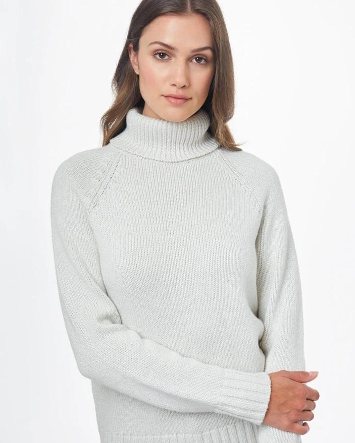 Tentree - W's Highline Wool Turtleneck Sweater - Weekendbee - sustainable sportswear