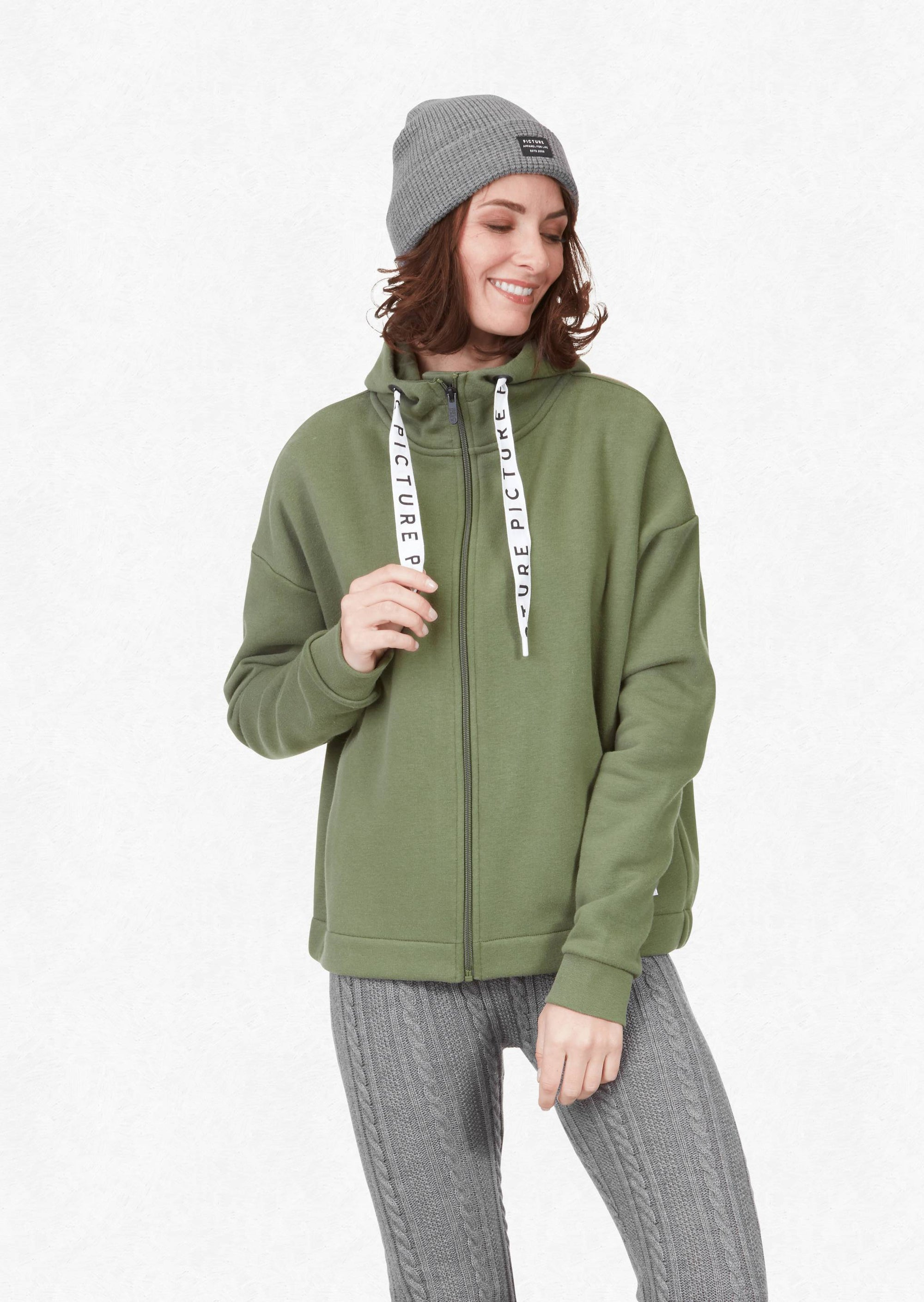 Picture Organic - W's Mell Zip Hoodie - Weekendbee - sustainable sportswear