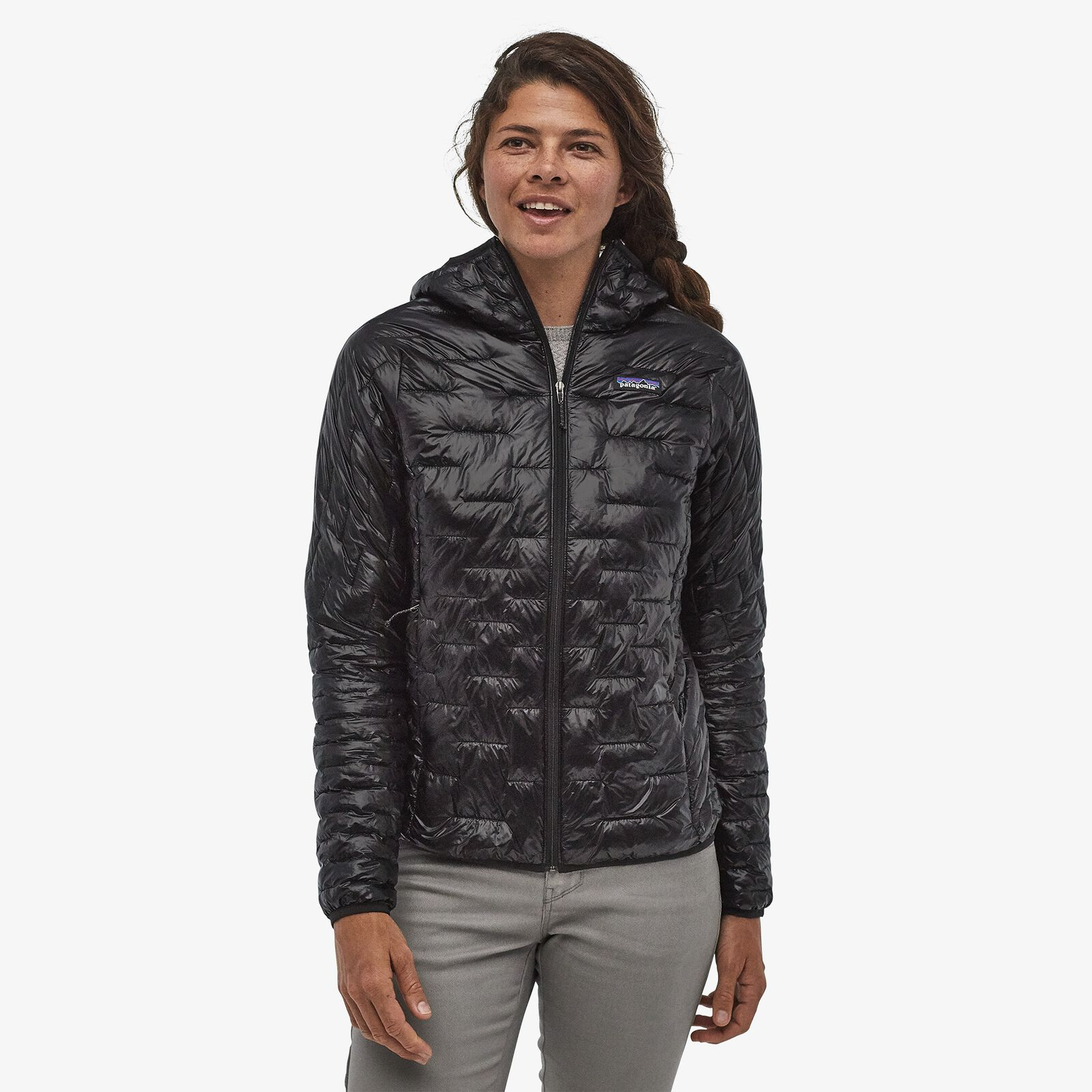 Patagonia - W's Micro Puff Hoody - Recycled Polyester - Weekendbee - sustainable sportswear