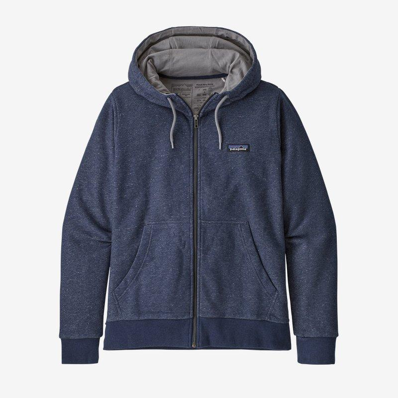 Patagonia - W's P-6 Label French Terry Full-Zip Hoody - Weekendbee - sustainable sportswear