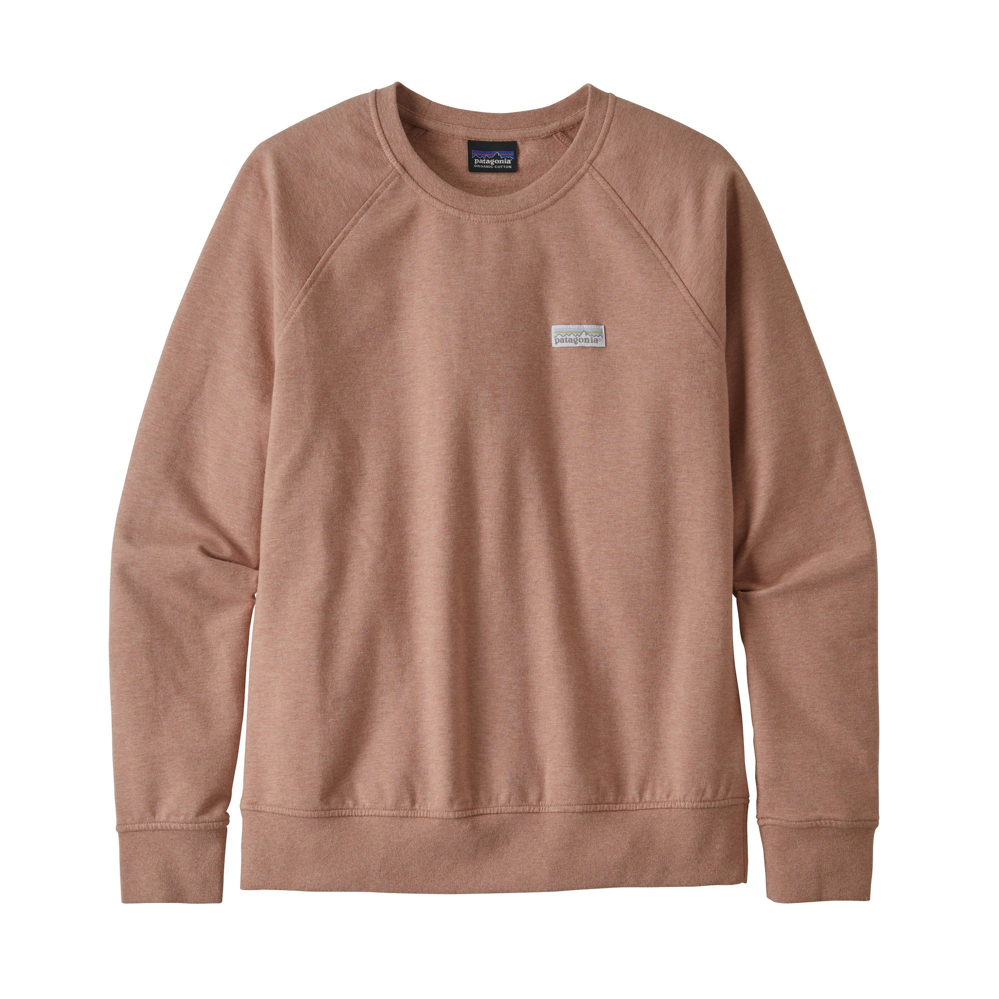 Patagonia - W's Pastel P-6 Label Ahnya Crew Sweatshirt - Organic Cotton - Weekendbee - sustainable sportswear