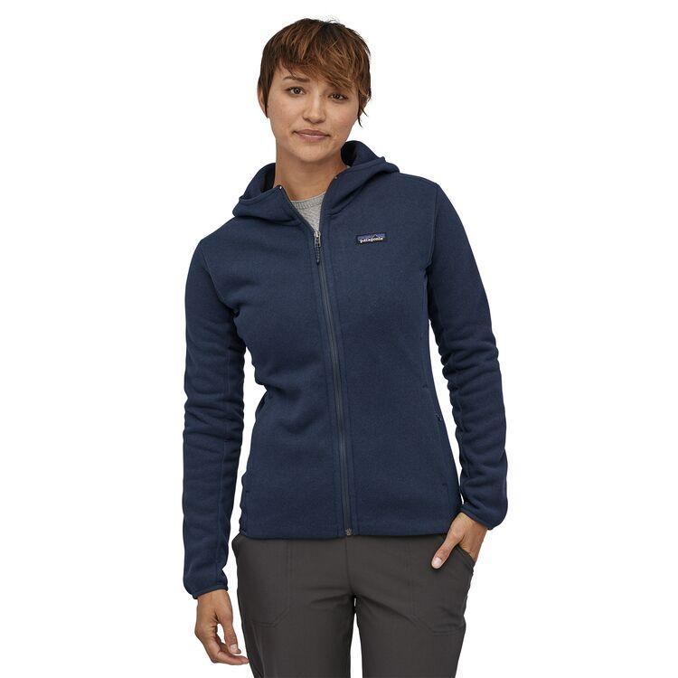 Patagonia - W's Performance Better Sweater™ Fleece Hoody - Recycled Polyester - Weekendbee - sustainable sportswear