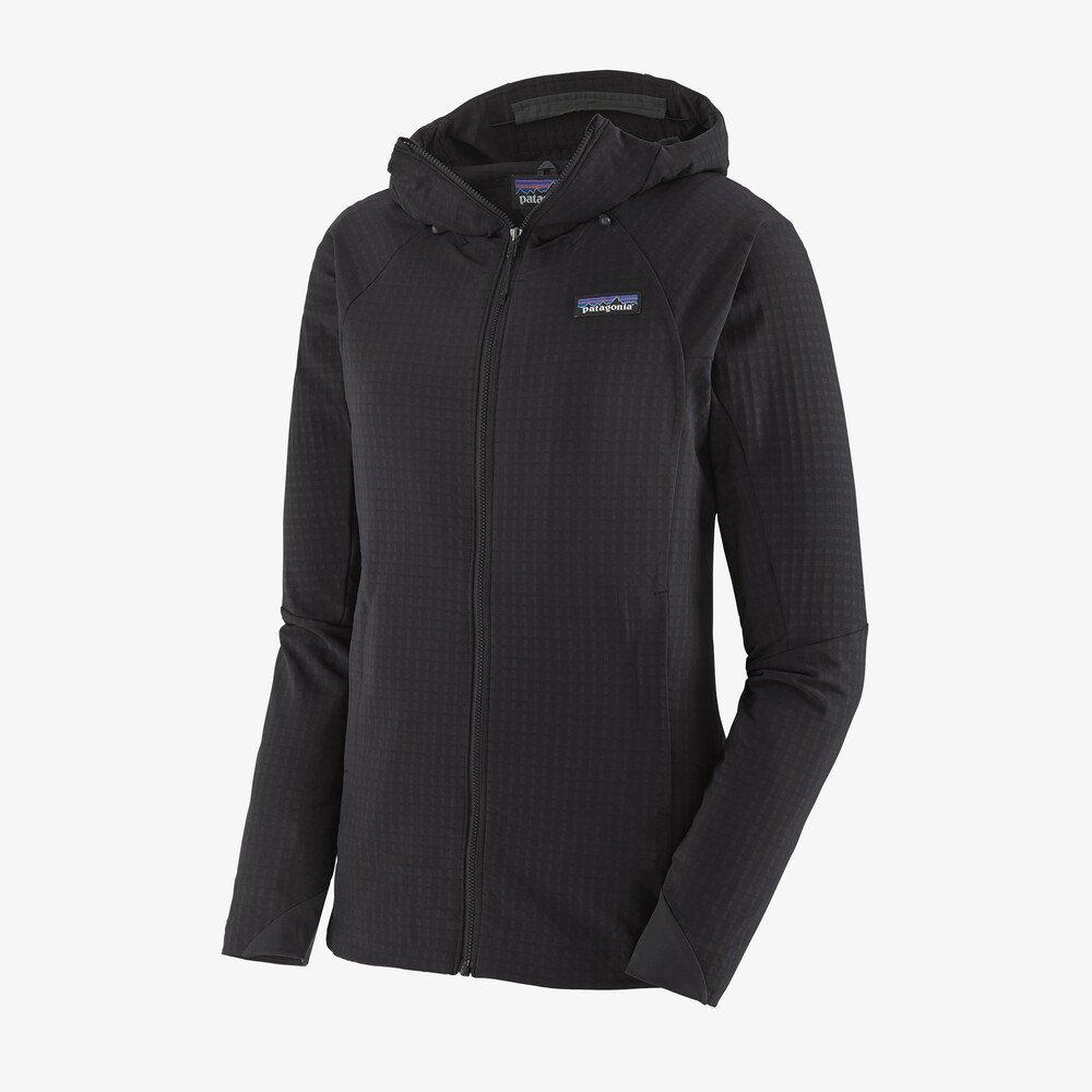 Patagonia - W's R1® TechFace Hoody - Recycled Polyester - Weekendbee - sustainable sportswear