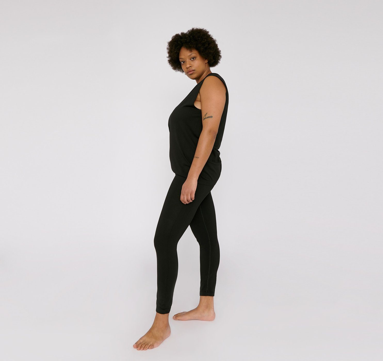 Organic Basics - W's SilverTech Active Leggings - Weekendbee - sustainable sportswear