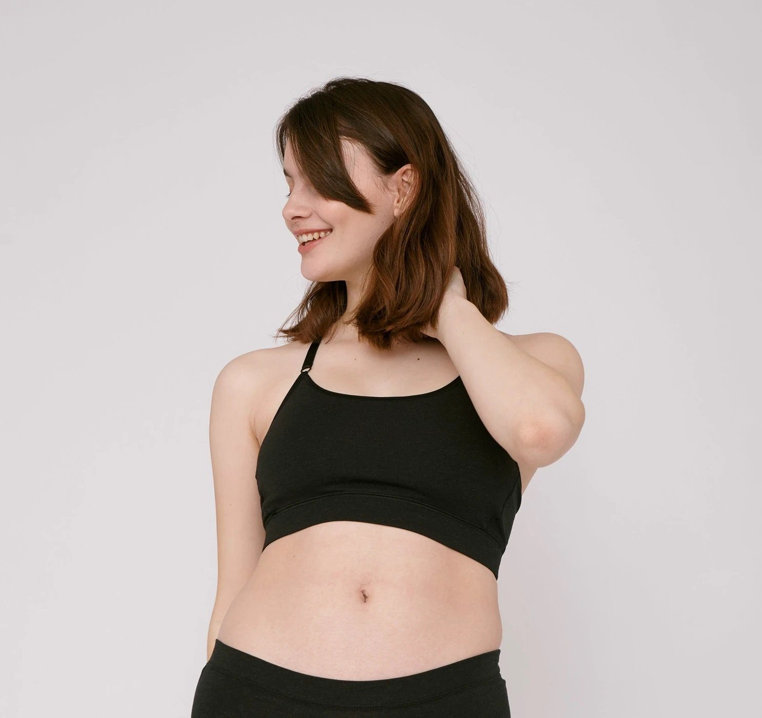 Organic Basics - W's SilverTech Basic Bra - Weekendbee - sustainable sportswear