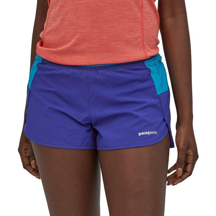 "Patagonia - W's Strider Pro Running Shorts - 3"" - Recycled Polyester - Weekendbee - sustainable sportswear"