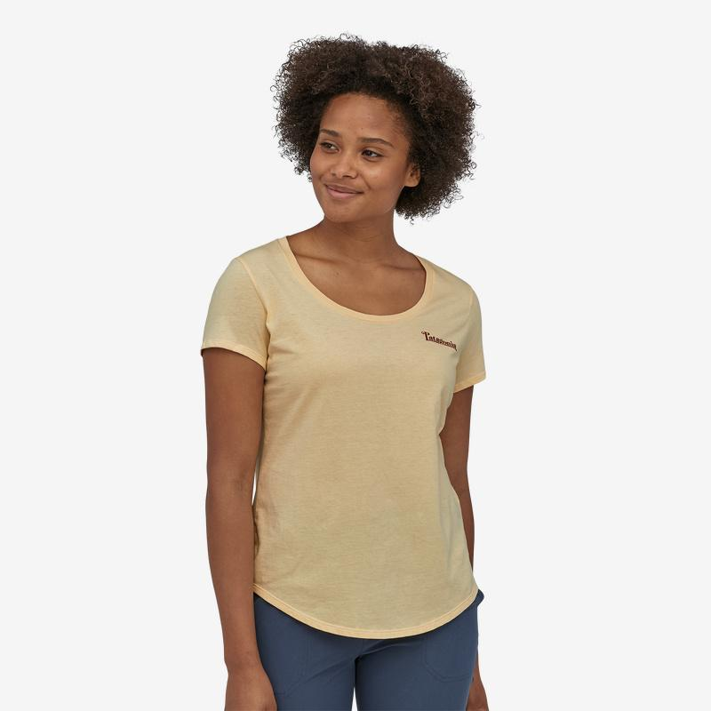 Patagonia - W's Sunset Sets Organic Cotton Scoop T-Shirt - Weekendbee - sustainable sportswear