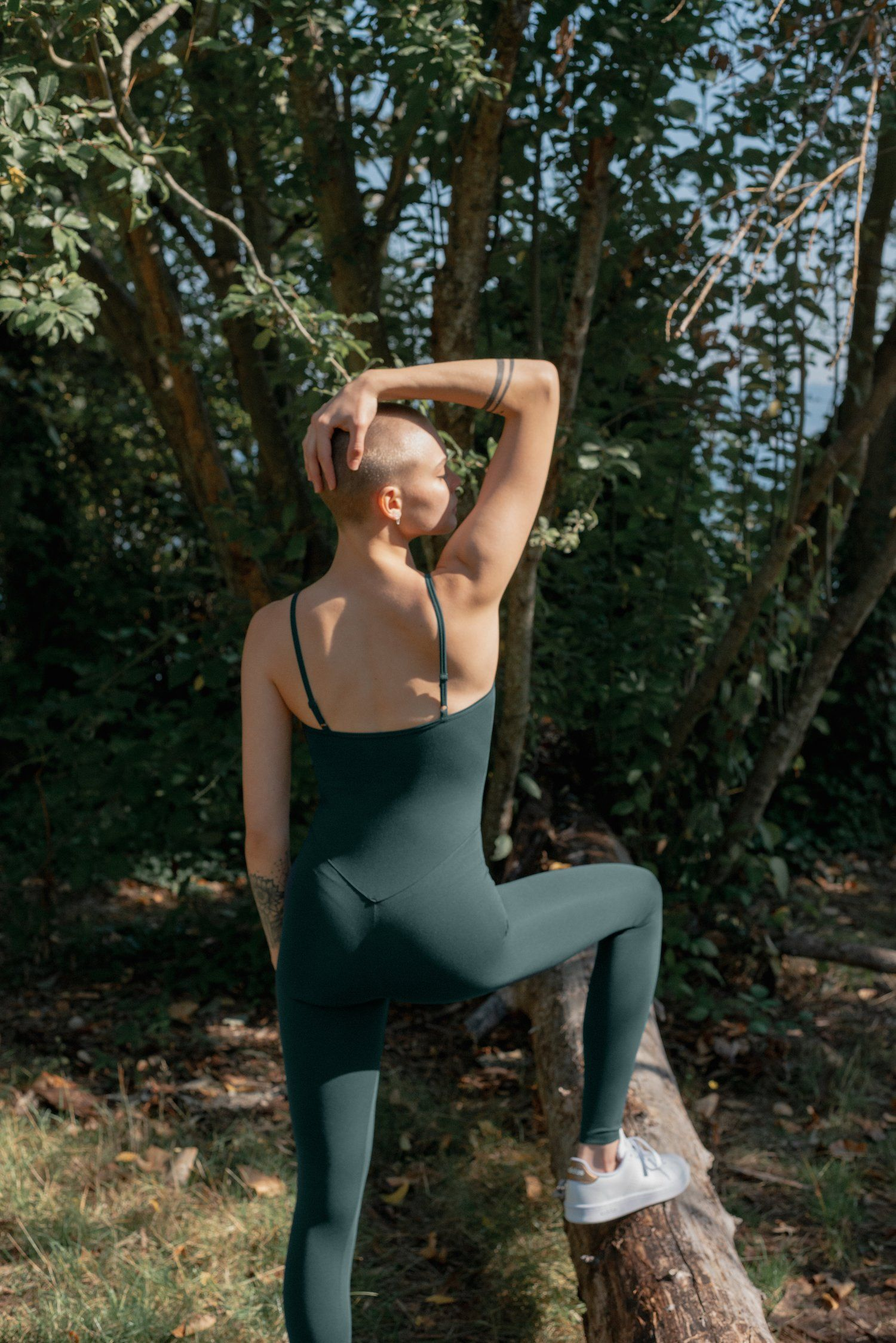 Girlfriend Collective - Unitard - Made from recycled plastic bottles - Weekendbee - sustainable sportswear