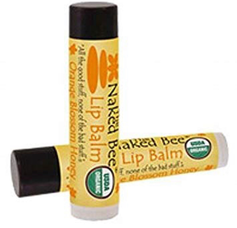 Naked Bee Lip Balm- Orange Honey Blossom