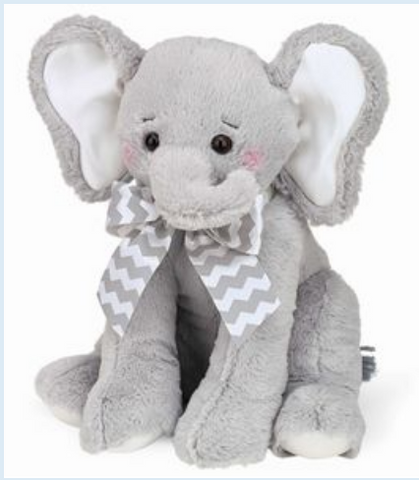 Cuddly Lil' Spout Large Stuffed Animal Elephant, 30""