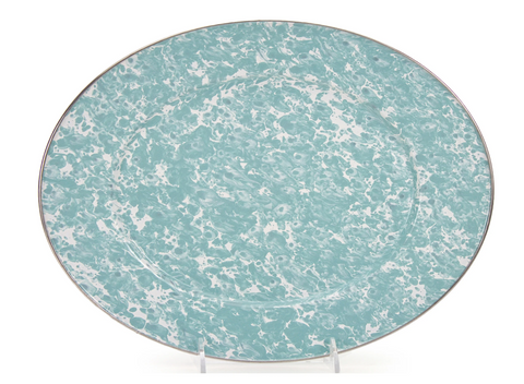 Sea Glass Oval Platter