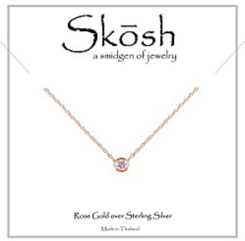 Rose Gold Skosh Necklaces