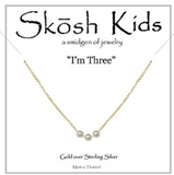 Skosh Kids Birthday Pearl Necklaces