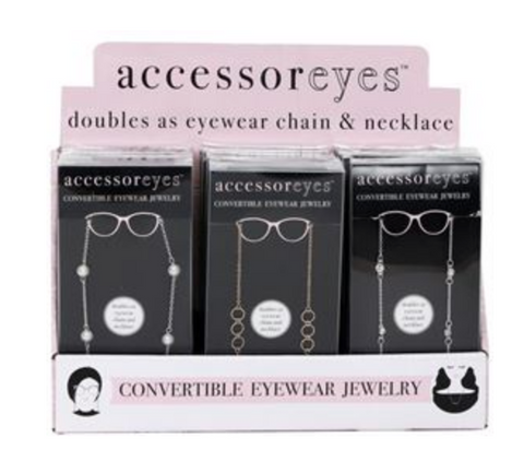 Convertible Eyewear Jewelry