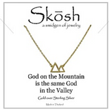 Gold Skosh Necklaces
