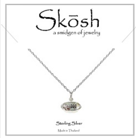 Silver Skosh Necklaces