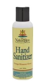 Hand Sanitizer in Orange Blossom Honey, 4 oz.