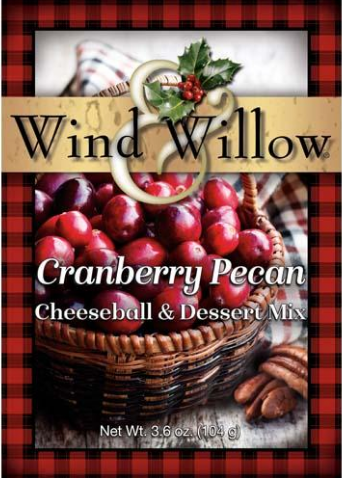 Cranberry Pecan Cheeseball & Dessert Mix