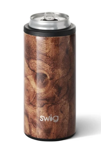 Black Walnut Skinny Can Cooler