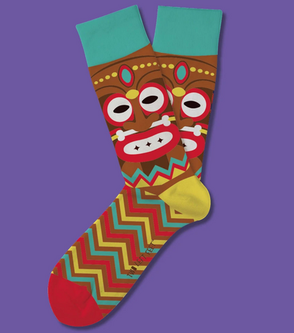 Tiki Terrace Everyday Socks