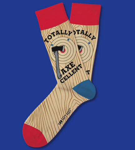 Totally Axecellent Everyday Socks