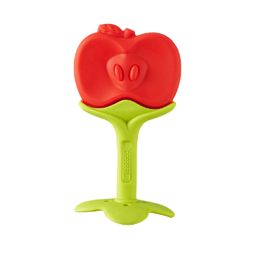 Apple EZ Grip Massaging Fruit Teether