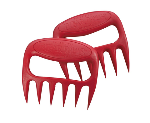 The Original Bear Paws Meat Shredders, Red