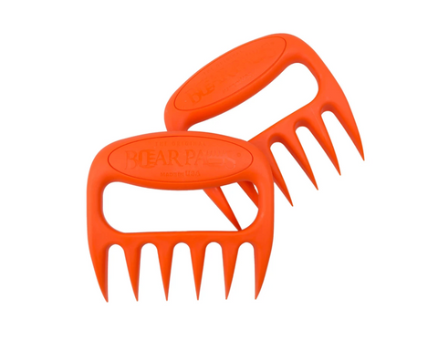The Original Bear Paws Meat Shredders, Orange
