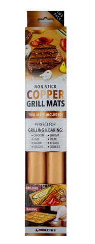 Copper Grill Mats, 2 pack