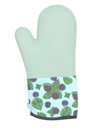 Farmhouse Collection Blackberry Mint Mojito Silicone Oven Mitt