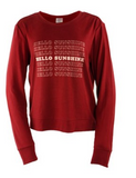 Hello Mello Hello Sunshine Lounge Sweater