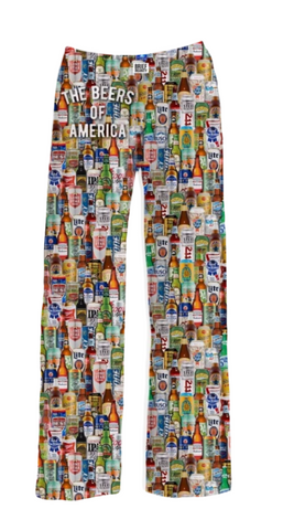Beers of America Pajama Pants