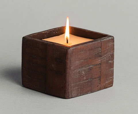 Red Current Collection Timbered Gem Candle