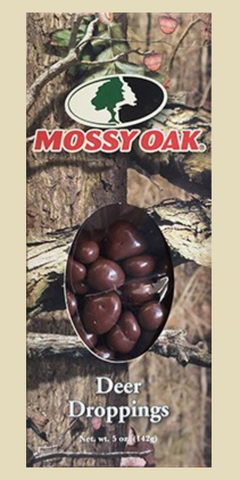 Mossy Oak Deer Droppings (Chocolate Peanuts), 5 oz. Box