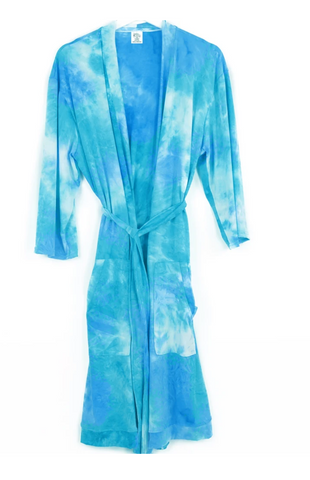 Hello Mello Aqua Dyes The Limit Lounge Robe