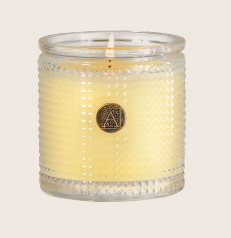 Sorbet Textured Glass Candle