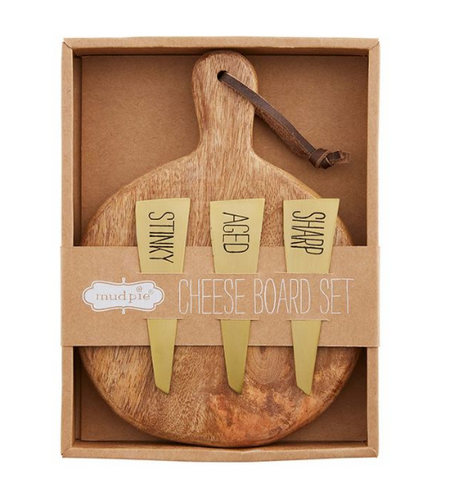 Bistro Boxed Paddle Board Cheese Set