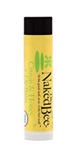 Naked Bee Lip Balm- Citron and Honey