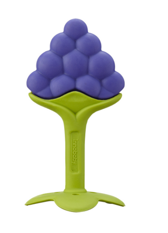 Grape EZ Grip Massaging Fruit Teether