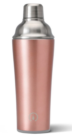 Rose Gold Cocktail Shaker