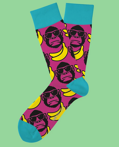 Funky Monkey Everyday Socks