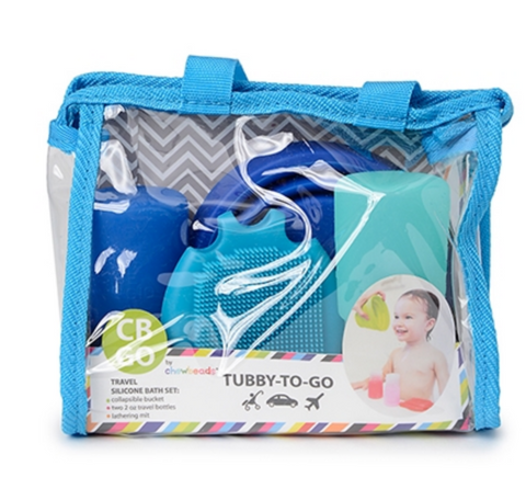 Tubby-To-Go Bath Set, Blue